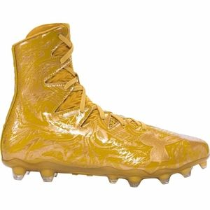 Under Armour Highlight LUX MC Football cleats Gold